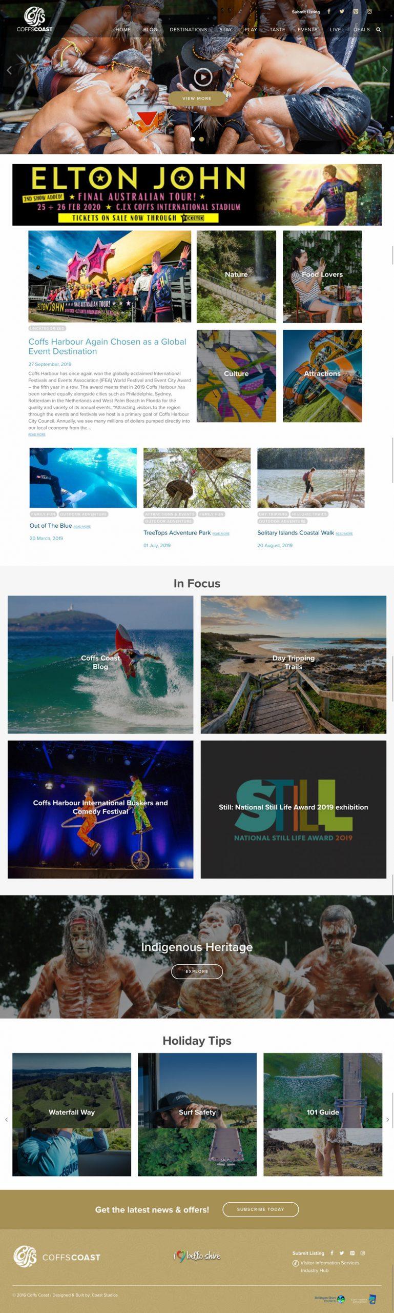Website Design & Development for Coffs Coast