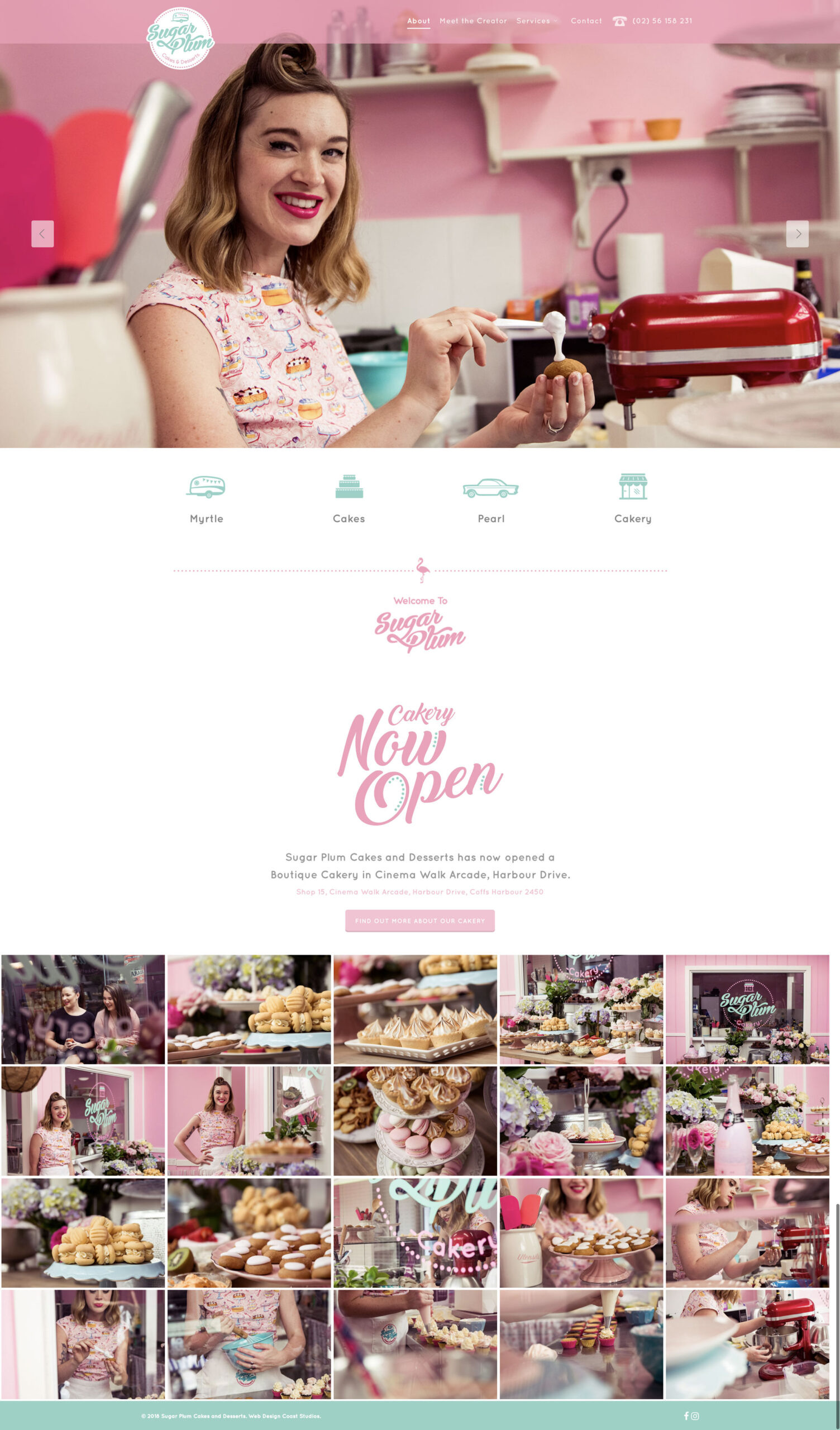 Website Design & Development for Sugar Plum